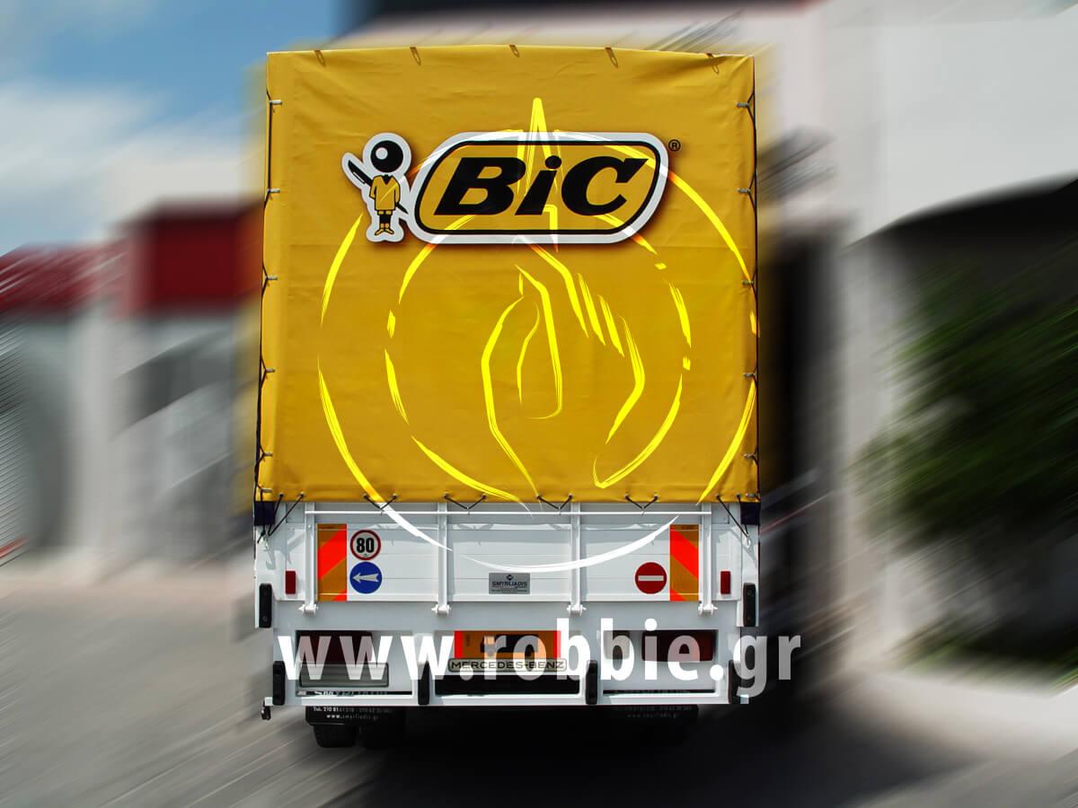 BIC / Μουσαμάδες φορτηγών 1
